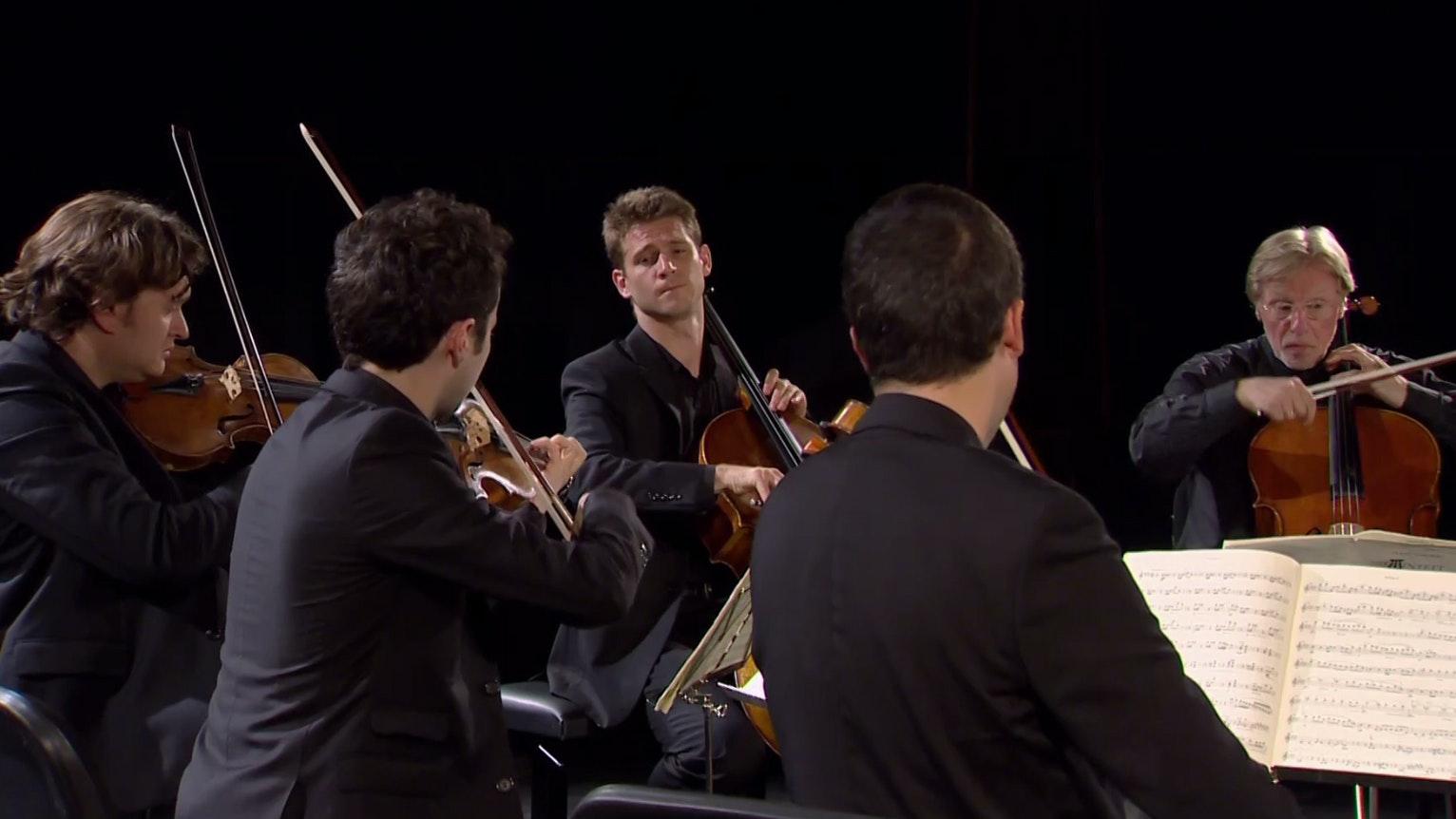 The Ébène Quartet plays Schubert – With Frans Helmerson