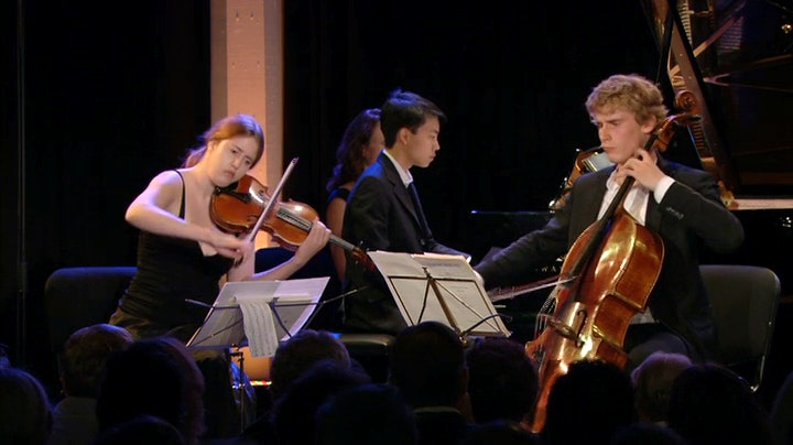 Vilde Frang, Ilya Gringolts, Andreas Brantelid, Kit Armstrong play Armstrong, Debussy and Beethoven