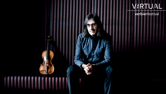 A day with Leonidas Kavakos I: Brand-new moments at the Virtual Verbier Festival