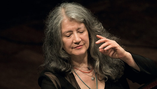 A day with Martha Argerich