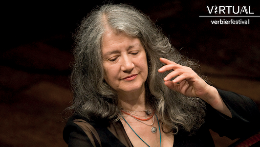A day with Martha Argerich I: Brand-new moments at the Virtual Verbier Festival