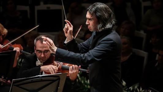 Vladimir Jurowski conducts Retinsky, Rayeva, Tarnopolsky, Vustin — With Elena Revich