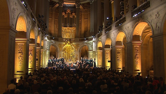 Lionel Meunier and Vox Luminis perform Handel
