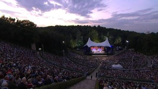 Waldbühne 2012: Andris Nelsons y Daishin Kashimoto interpretan a Chaikovski