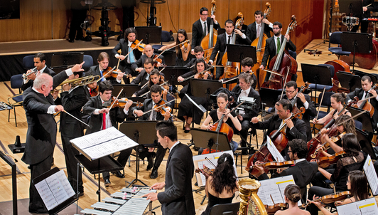 Daniel Barenboim conducts Verdi, Wagner, Haddad, and Czernowin