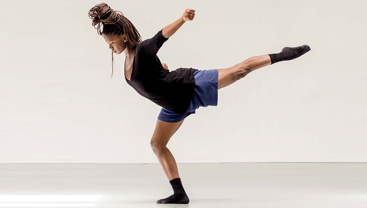 Londiwe Khoza performs excerpts from works by her mentor Ohad Naharin