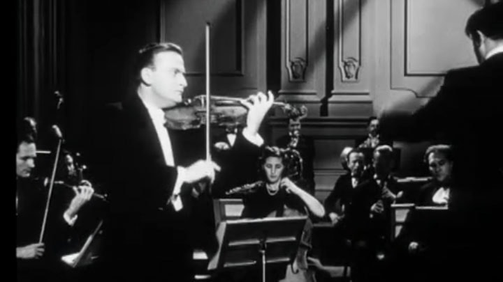 Yehudi Menuhin: a violonist in Hollywood