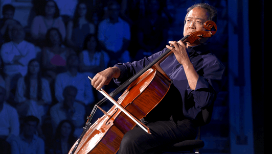 Yo-Yo Ma plays Bach's Six Solo Cello Suites