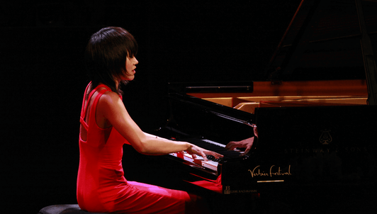 Yuja Wang performs Schubert, Schumann, Scriabin, and Prokofiev