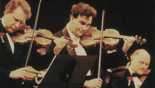 Zubin Mehta y Daniel Barenboim dirigen un programa 100% violinístico – Con Isaac Stern, Gil Shaham, Maxim Vengerov, Pinchas Zukerman, Itzhak Perlman...